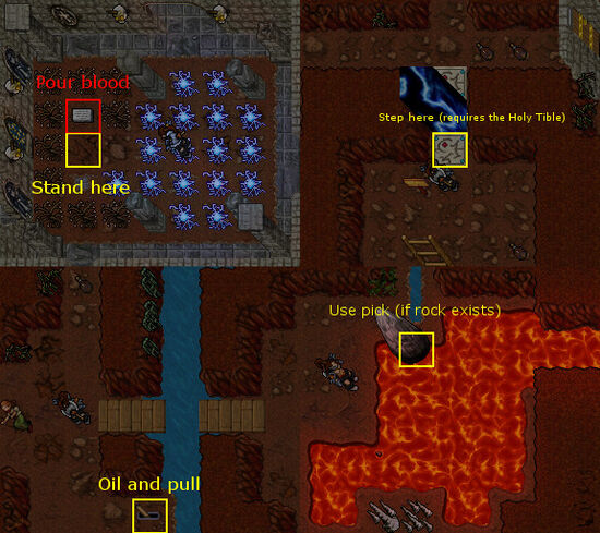 Pits of Inferno Quest Entrance