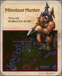 Minotaur Hunter Artwork
