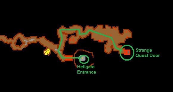 Strange Questdoor Route