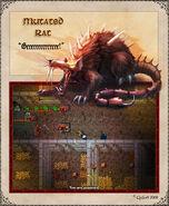 Mutated Rat Artwork