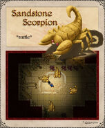 Sandstonescorpion