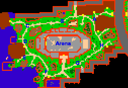 Arena and Zoo Quarter ground
