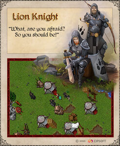 Lion Knight Artwork