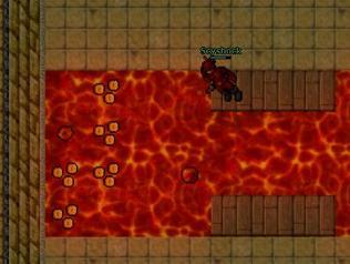 Lava walking