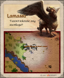 Lamassu Artwork