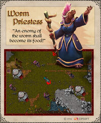 Worm Priestess Artwork
