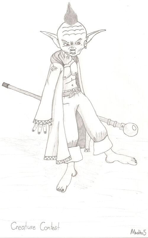 Goblin Wizard by Mastho5