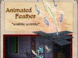Animated Feather
