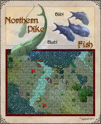 Northern Pike (Creature) Artwork