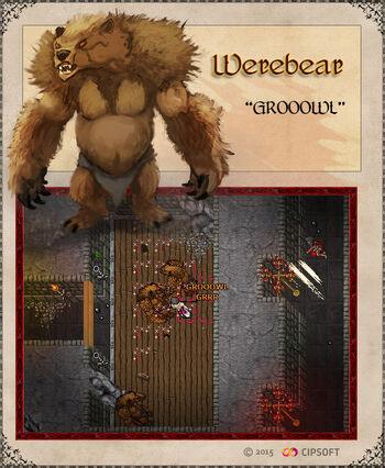 Werebear Artwork