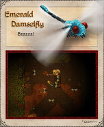 Emerald Damselfly Artwork