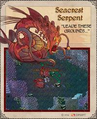 Seacrest Serpent Artwork