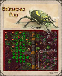 Brimstone Bug Artwork