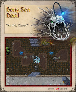 Bony Sea Devil Artwork