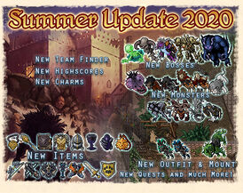 Summer Update 2020 Artwork