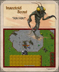 Insectoid Scout Artwork