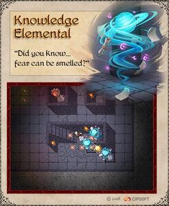 Knowledge Elemental Artwork