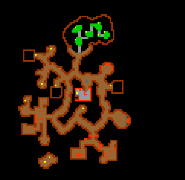 Swamp Troll Cave Map 2