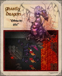 Ghastly Dragon Artwork