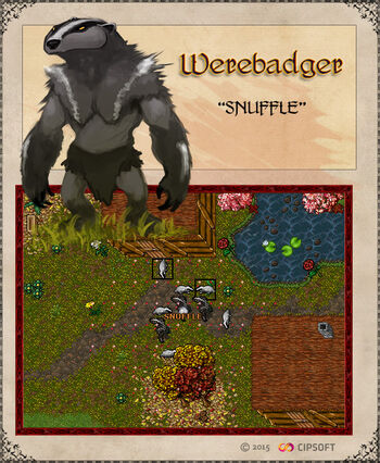 Werebadger Artwork