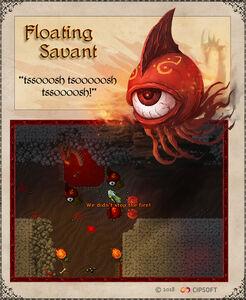 Floating Savant Artwork