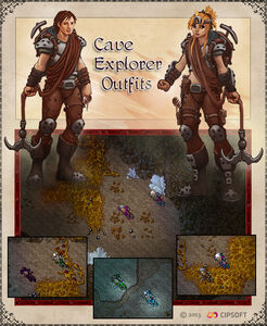 Cave Explorer Outfits