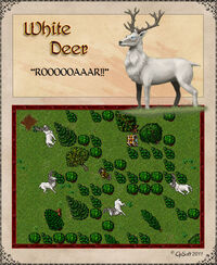 White Deer Artwork
