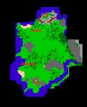 Edron Peninsula surface