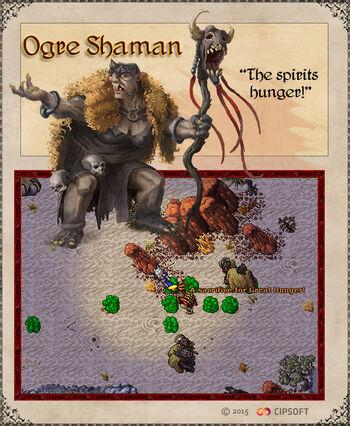 Ogre Shaman Artwork