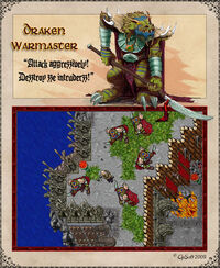 Draken Warmaster Artwork