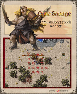 Ogre Savage Artwork