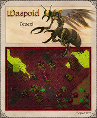 Waspoid Artwork