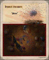 Insect Swarm Artwork