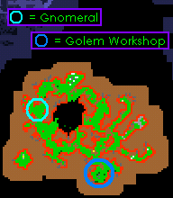 Bigfoot's Burden Quest Gnomeral Location & Golem Workshop Location