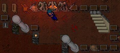Minotaur Hell Quest Room