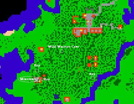 Bright Sword Quest Map