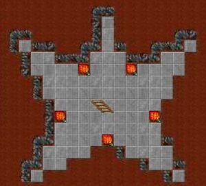 Edron pentagram room