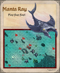 Manta Ray Artwork