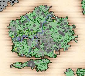 Rookgaard map