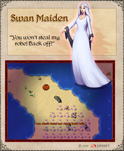 Swan Maiden Artwork