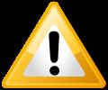 Warning Icon Yellow