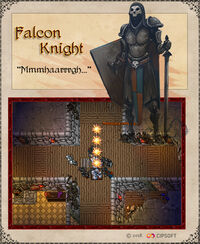 Falcon Knight Artwork