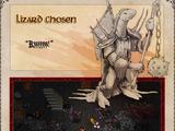 Lizard Chosen