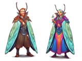 Moth Cape Outfits