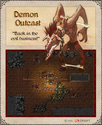 Demon Outcast Artwork