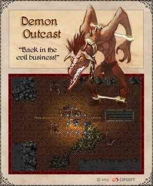 Demon Outcast Artwork