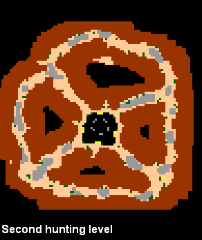 Darashia Dragon Lair Map 3