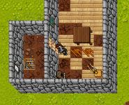 Black Knight Quest Locked Door