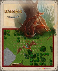 Werefox Artwork