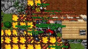 Tibia's 15th Anniversary! 4 Craban and Denson Larika fight!